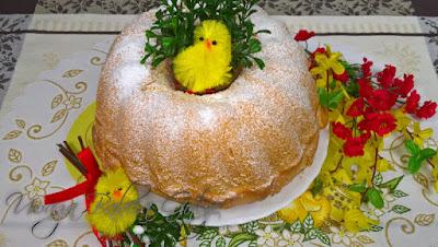 Bezglutenowa Babka Wielkanocna