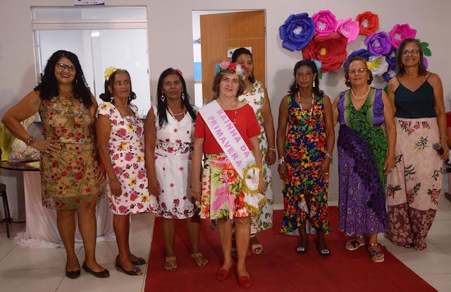 Programa Idade Viva de Barreiras promove desfile para festejar a chegada da Primavera