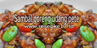 resep sambal goreng udang pete