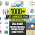 VideoHive Flat Animated Icons 1000+
