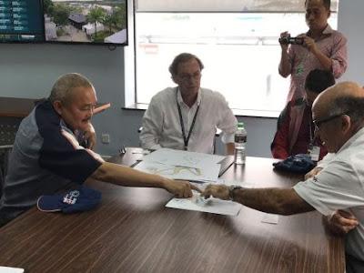 Pertemuan Gubernur Sumatera Selatan dengan CEO DORNA