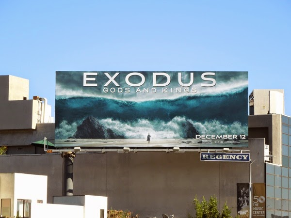 Exodus Gods and Kings Red Sea billboard