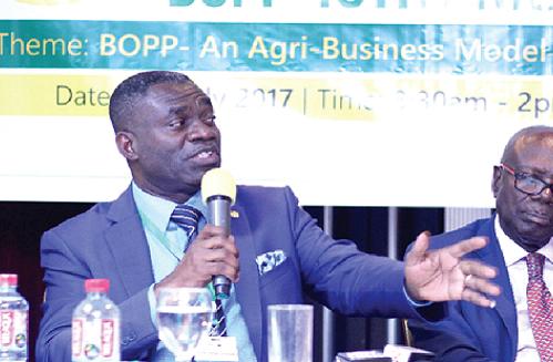 Deputy Agric Min. William Quaitoo resigns