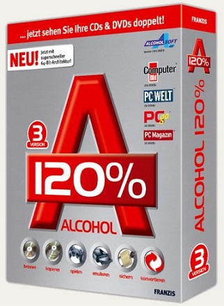 Alcohol 120% 2.0.3.9326 poster box cover