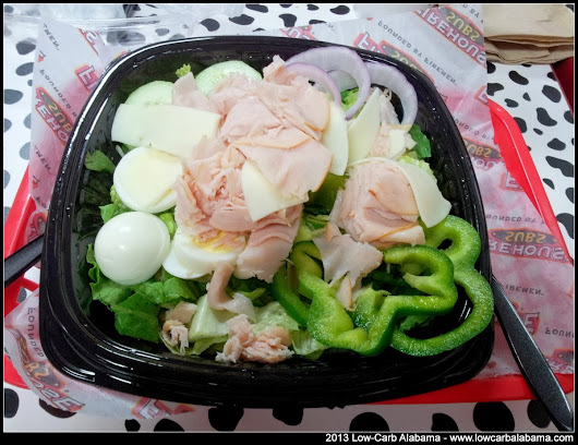 Firehouse Subs - Turkey Chef's Salad