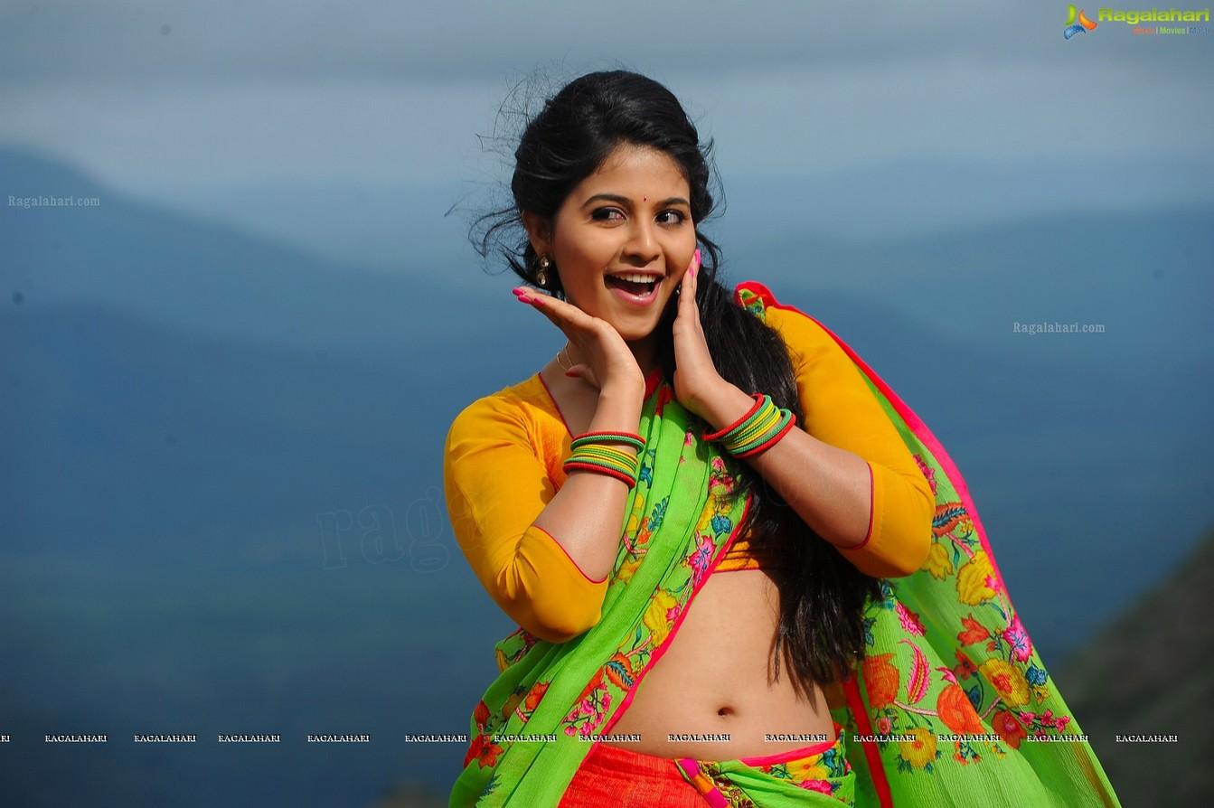 Actor Anjali Photos: Anjali Latest Hot Photos In Saree « Mallufun.com