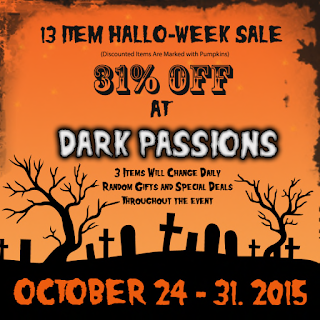 Dark Passions - Hallo-week Sale