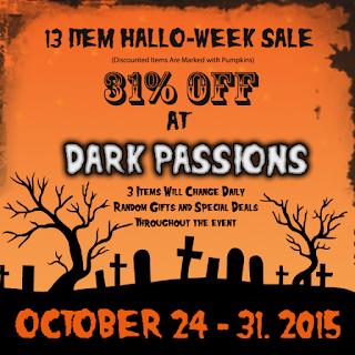 Dark Passions - Hallo-week Sale