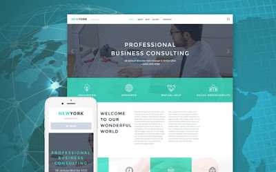 Best Professional Business Website Theme
