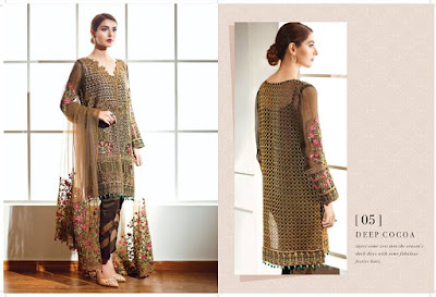 Baroque Women's Chiffon Dresses Collection in Pakistan