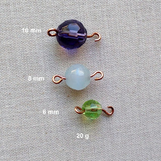 Information on which wire and which size beads work best with the Beadsmith 1 step looper tool: Lisa Yang's Jewelry Blog