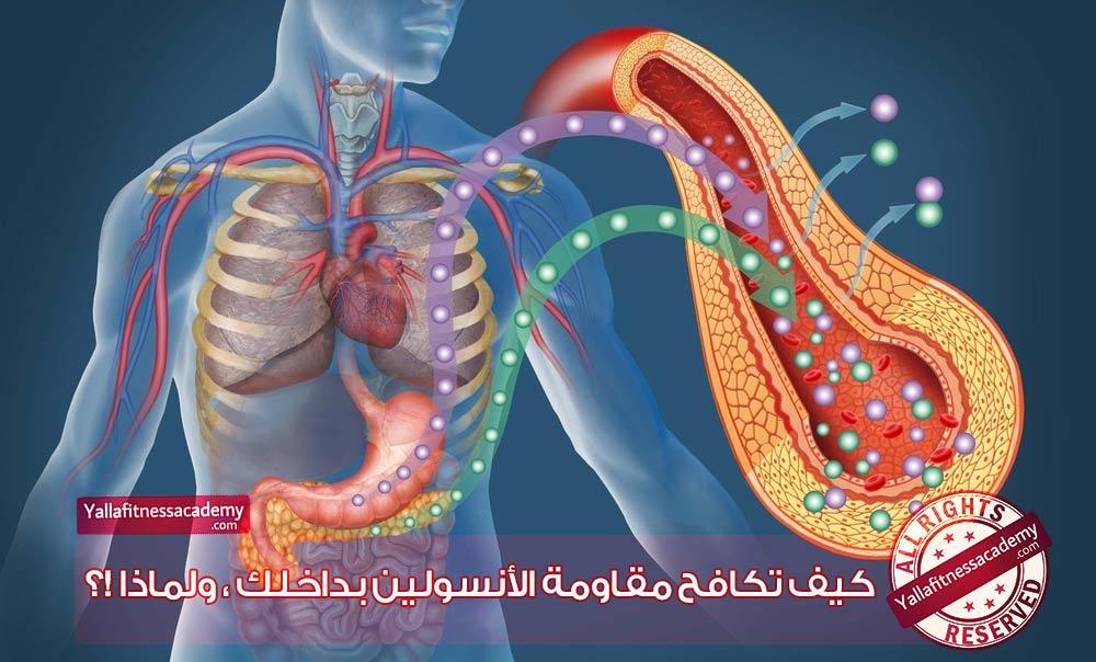 كيف تكافح مقاومة الأنسولين بداخلك ، ولماذا !؟