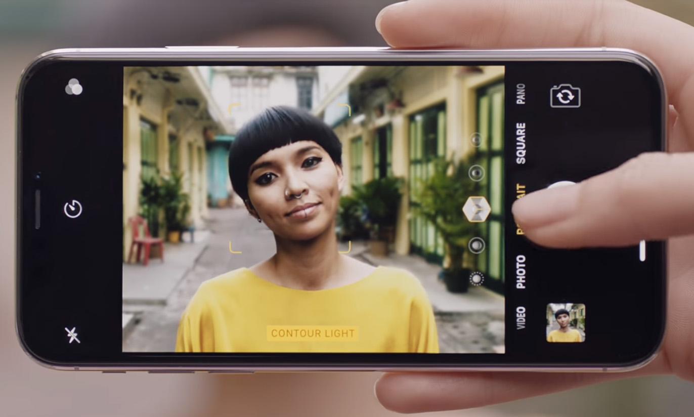 iPhone X - 呈現令人驚豔的攝影棚等級光效