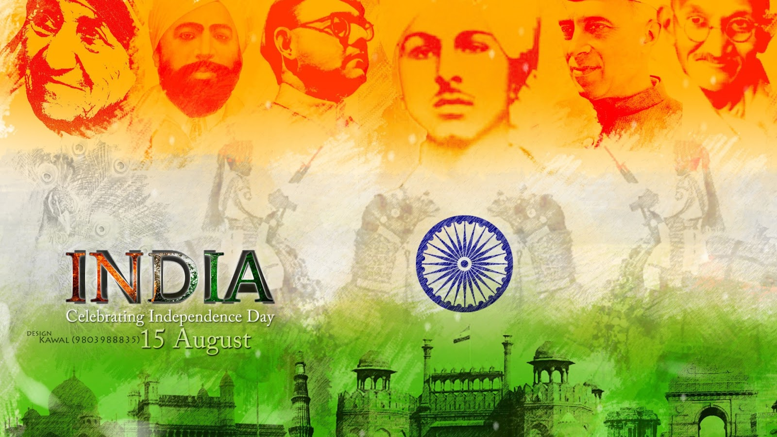 Latest 15th August 2018 Wallpapers And 15 August Independence Day Hd