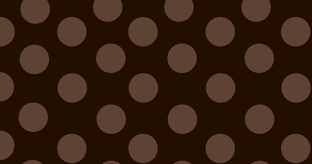 Free Scrapbooks Surely For Keeps Brown Big Polka Dots