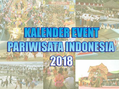 Kalender Event Pariwisata Indonesia 2018