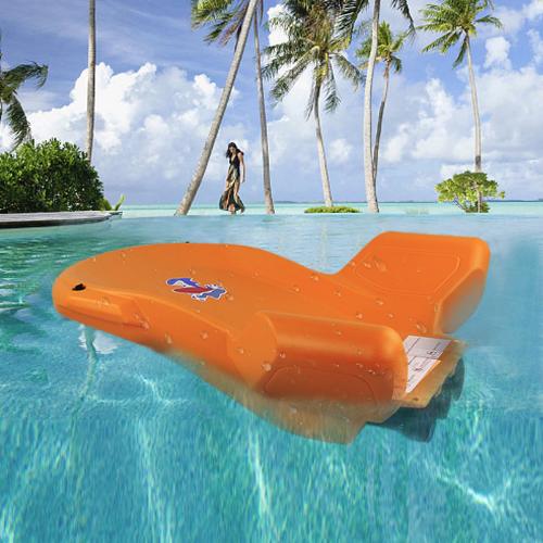 Подводный электрический морской скутер с тремя моторами для неглубокого погружения
