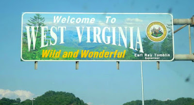 Welcome to West Virginia - State Sign