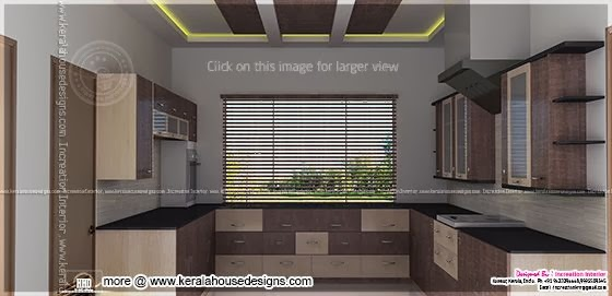 Kitchen design view 2