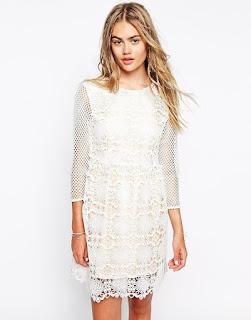 Asos Little White Lies Dress