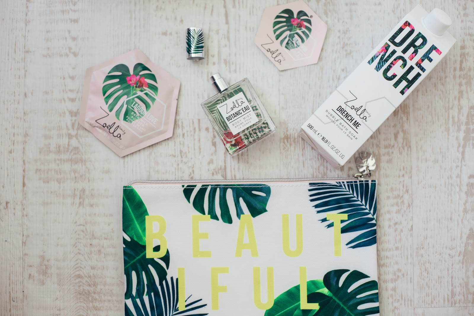 Zoella Splash Botanics Beautiful Bag