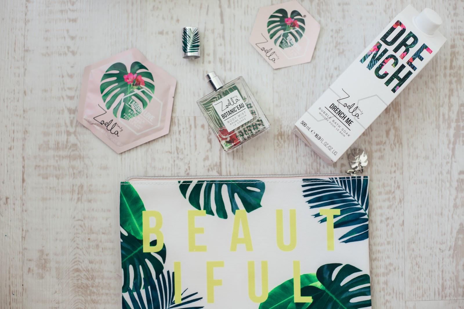 Zoella Splash Botanics Beautiful Bag