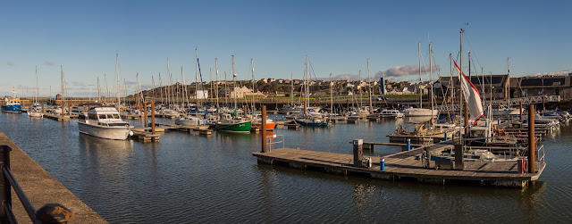 Photo of Maryport Marina on a sunny November day