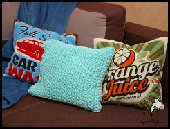 Sznurkowa poduszka