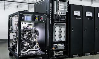 Hydrogen based, carbon-free data center (Photo Credit: Daimler AG) Click to Enlarge.