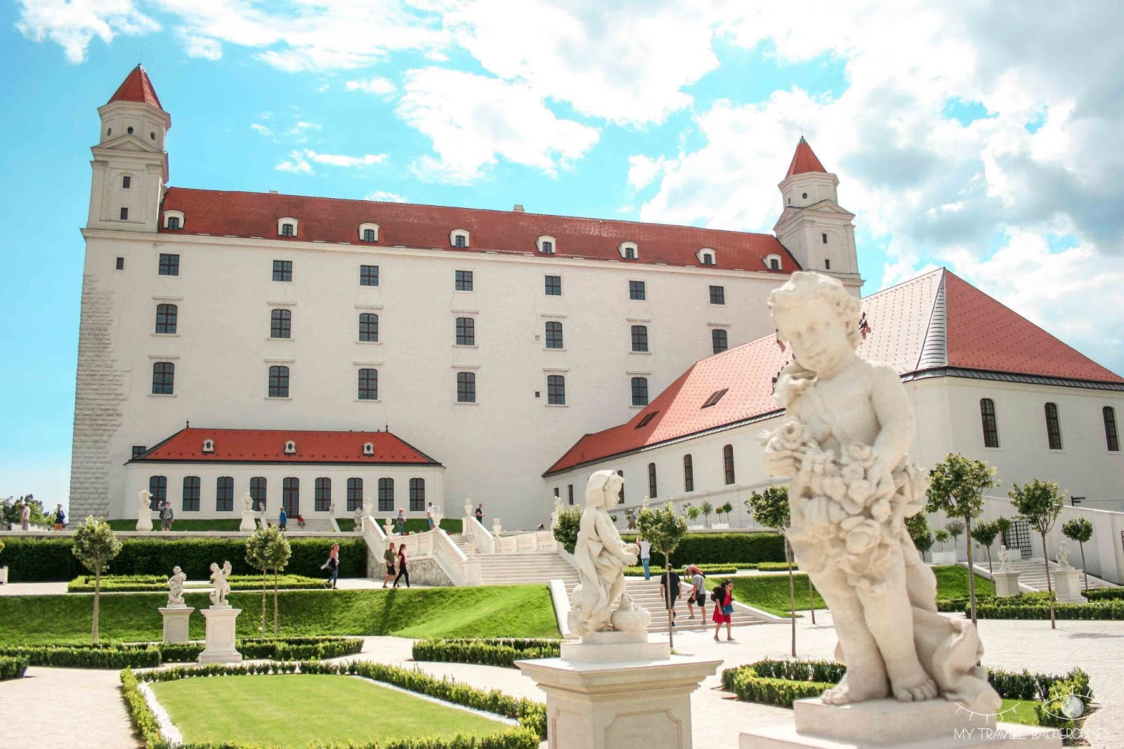 My Travel Background : visiter Bratislava, la capitale de la Slovaquie, en 1 jour - Château de Bratislava