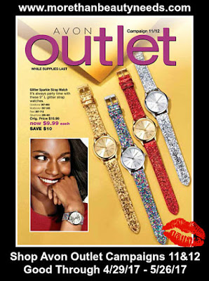 Shop Avon Outlet Campaigns 11&12. Good Through 4/29/17 - 5/26/17. Click on image >>>