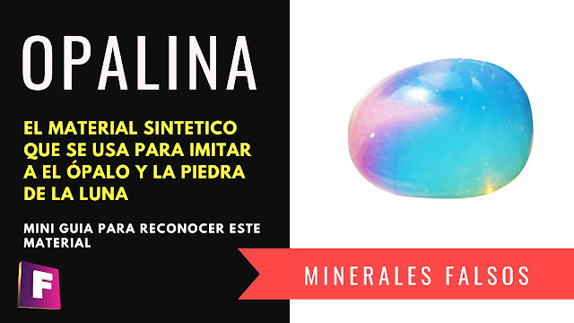 Que es la opalina ? realmente es un mineral ?