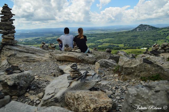 Randonnée en Ardèche au Mont Gerbier de Jonc