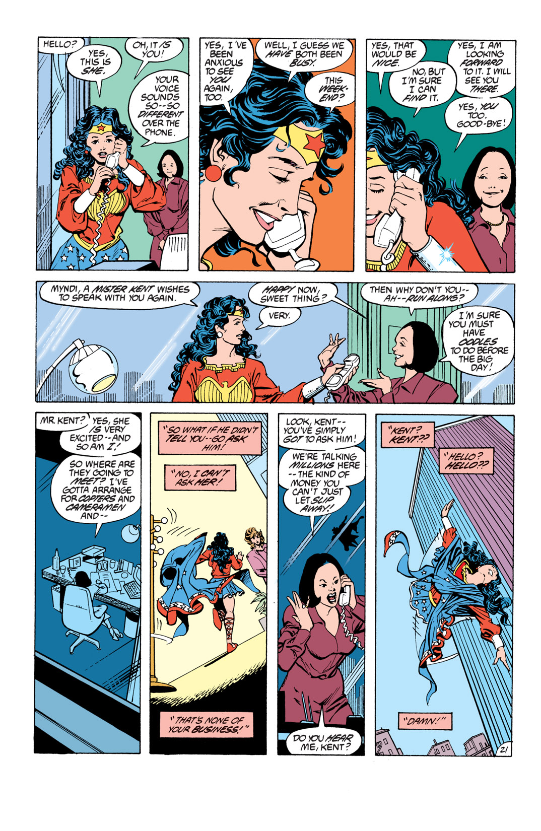 Read online Wonder Woman (1987) comic -  Issue #16 - 22