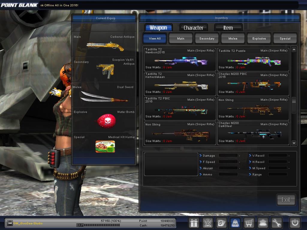 Tutorial Download Point Blank Garena Semi Offline Di PC