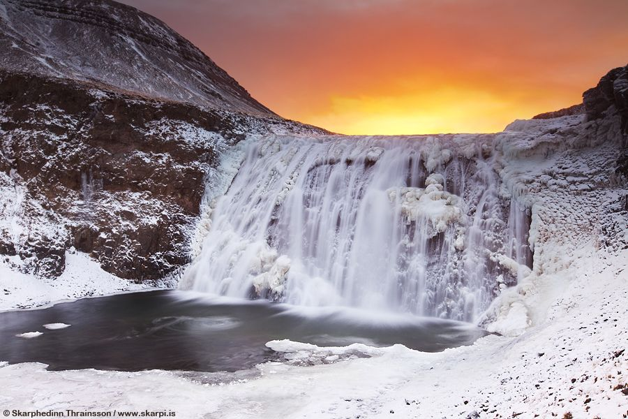 27. Winter season in Iceland