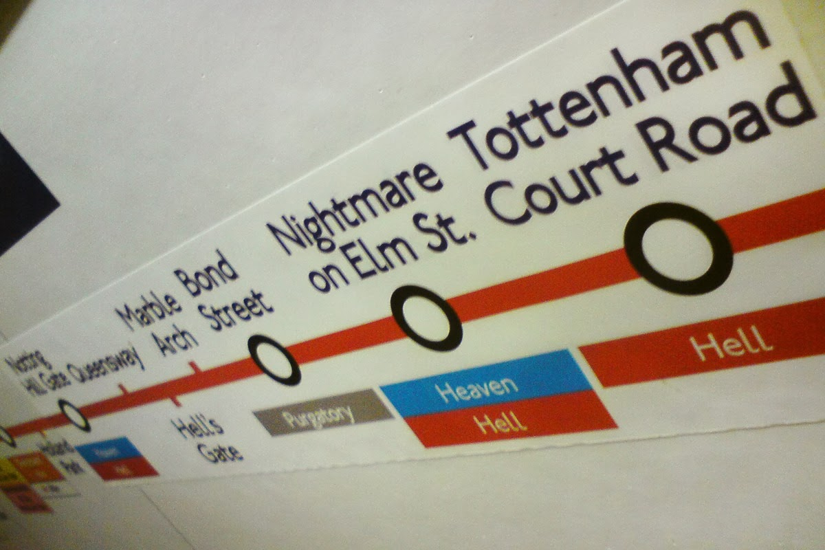 Fake London Underground Signs (33 Pics)