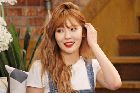 "✰PHOTO✰ Hyuna w ""Happy Together"""