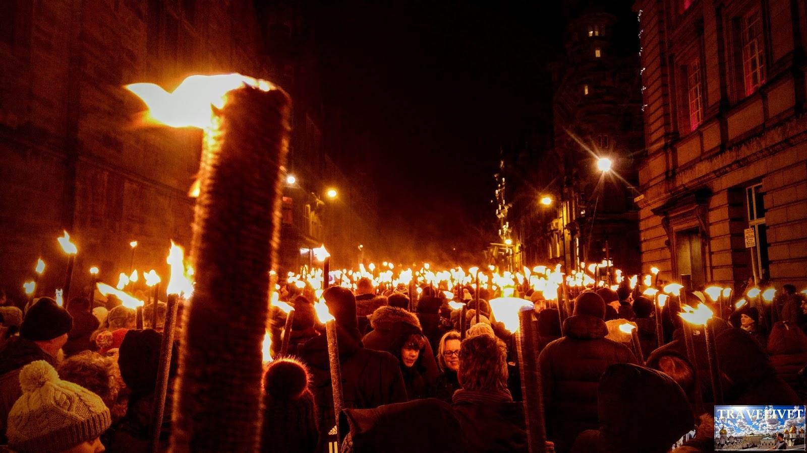 HOGMANAY 2018 : Fêter le nouvel an à Edimbourg