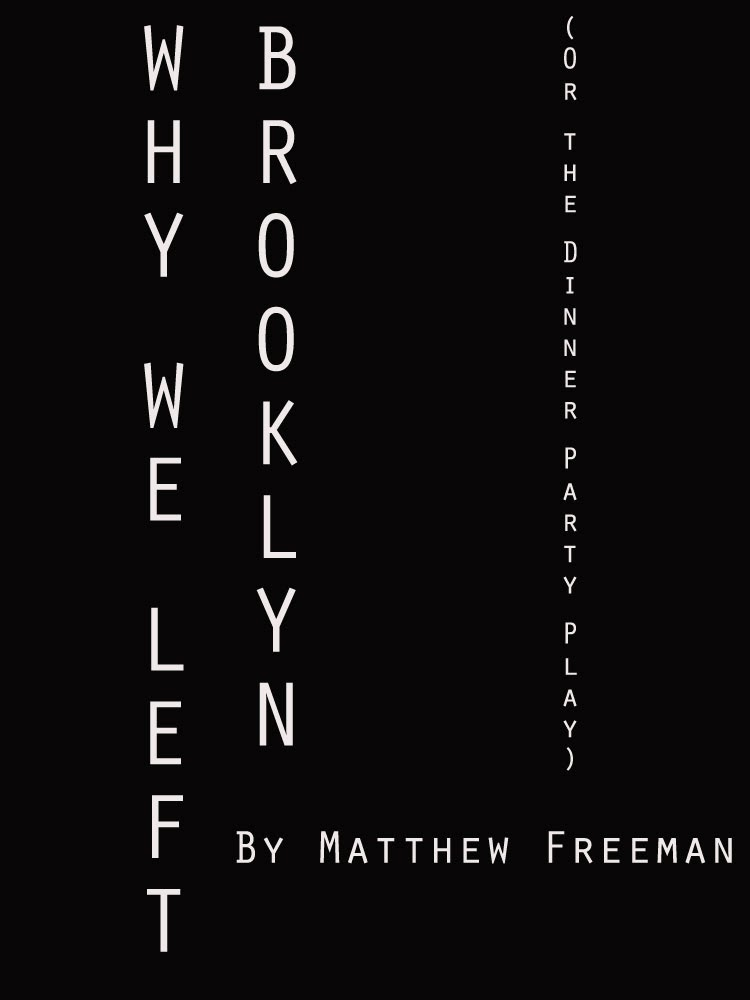 http://www.amazon.com/Why-Left-Brooklyn-Matthew-Freeman-ebook/dp/B00IHPZLG8