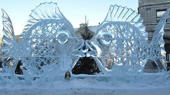 amazing ice sculpture wallpapers - photo #48