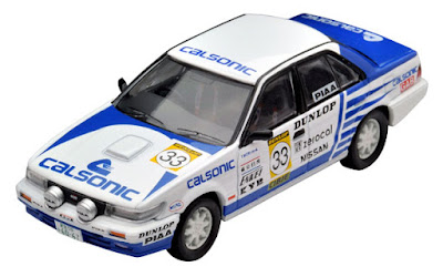 Tomica Limited Vintage NEO LV-N185b Bluebird SSS-R Japanese Rally Championship