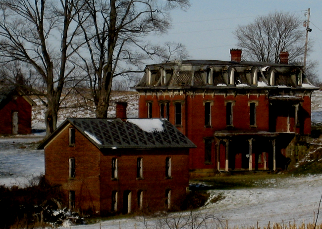 The cloaked house in Ohio