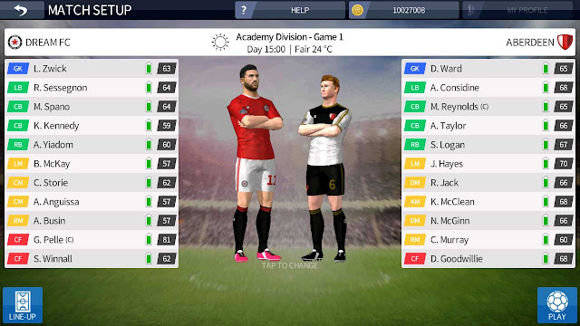 dream league soccer 2016 unlimited player development