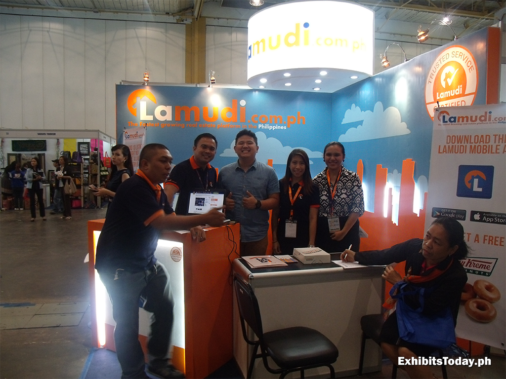 Lamudi.com.ph Exhibit Booth