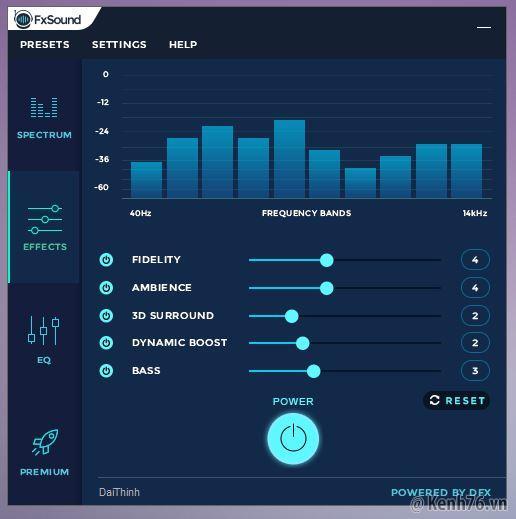 Download dfx audio enhancer 12 full phần mềm tăng cường chất.