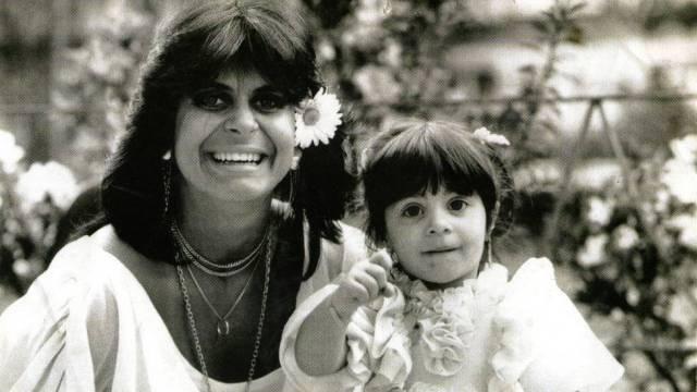 Gretchen e a filha Thammy