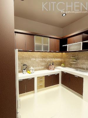 desain dapur takalar