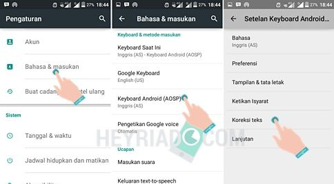 Cara Menghilangkan Autotext Android