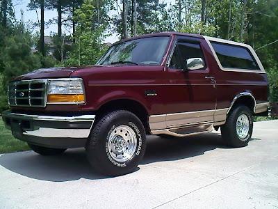 ford bronco owners manual    repair